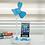 Thumbnail: クローバーUSB 卓上ミニ扇風機 スマホスタンド付 USBと電池両用 5個