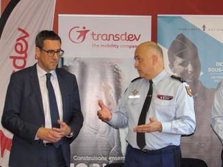 Transdev s'engage avec la Gendarmerie contre la délinquance