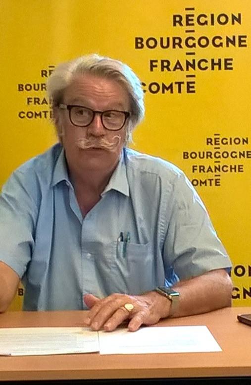 Michel Neugnot, vice-président en charge des transports à la région.