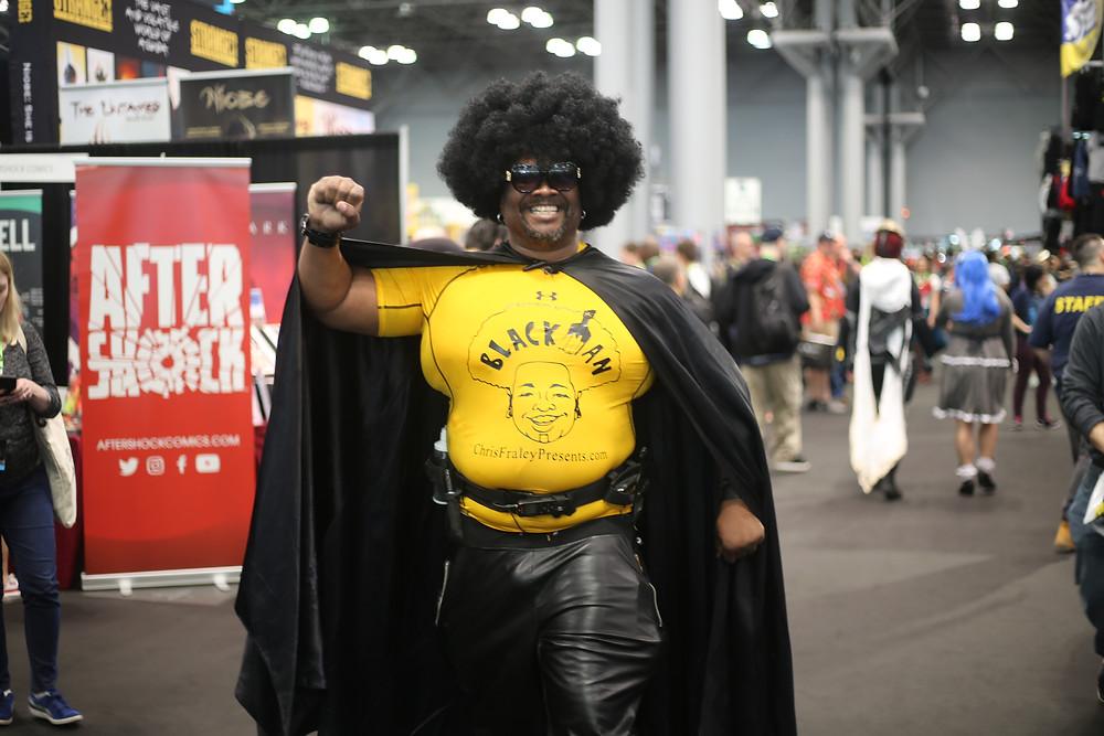 Original BlackMan Costume