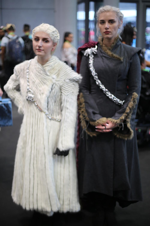 The various outfits of Daenerys Targaryen