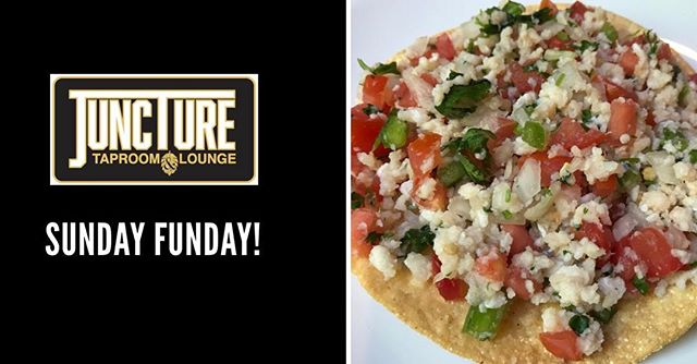 Football+Craft Beer+Fresh Ceviche Tostad