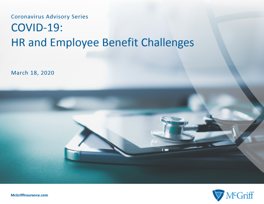 COVID-19: HR and Employee Bene