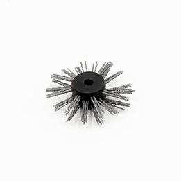 """Carbide brush Ø 75 mm (3"""") - 8mm (5/16"""") Cable"""