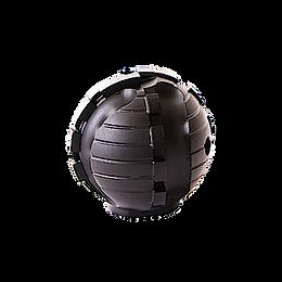 Special - Diamond Head Dia. 40x45mm- M14 PVC/LINER