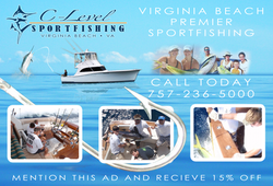 Sport Fishing Welcome Page