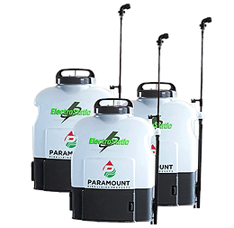 Paramount ElectroStatic Backpack Sprayer Set of (3)