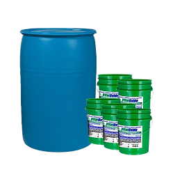 Vital Oxide 55 Gallon Drum with (5) 5 Gallon Pails and Lids