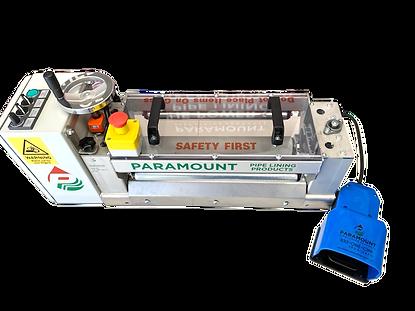 FrontDown-MiniRoller CIPP Wetout Machine