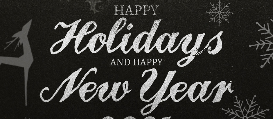 Happy Holidays And New Year 2021