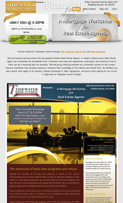 Mortgage Workshop for Real Estate