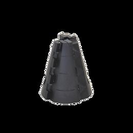 Special - Diamond Head Dia. 40x20mm- M14 PVC/LINER