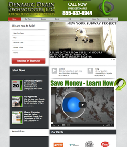 Dynamic Drain Website