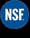 NSF-CERTIFIED Logo
