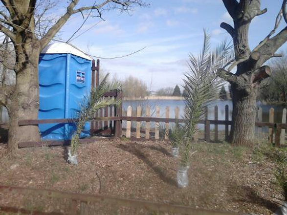 Site Loo by Lake