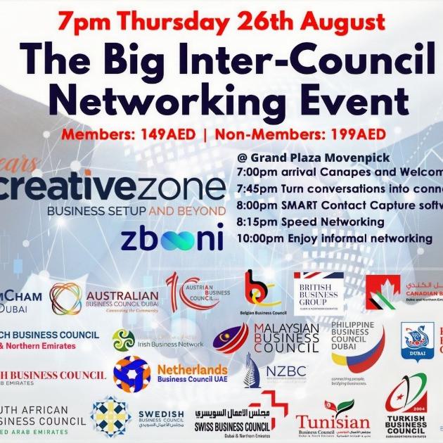 CBC Dubai - The Big Intercouncil Networking Event