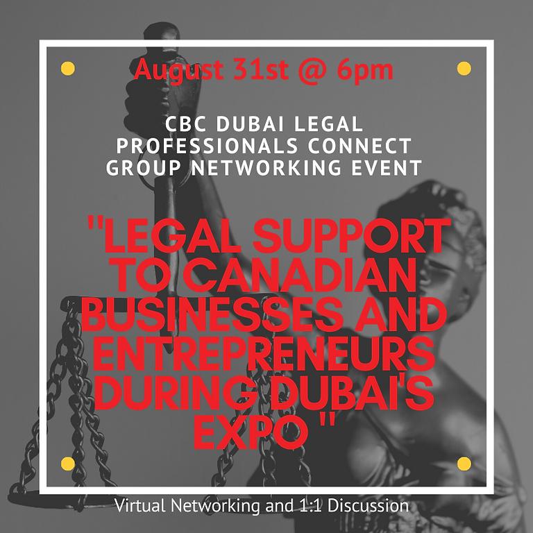 CBC Dubai Legal Professionals Connect Group