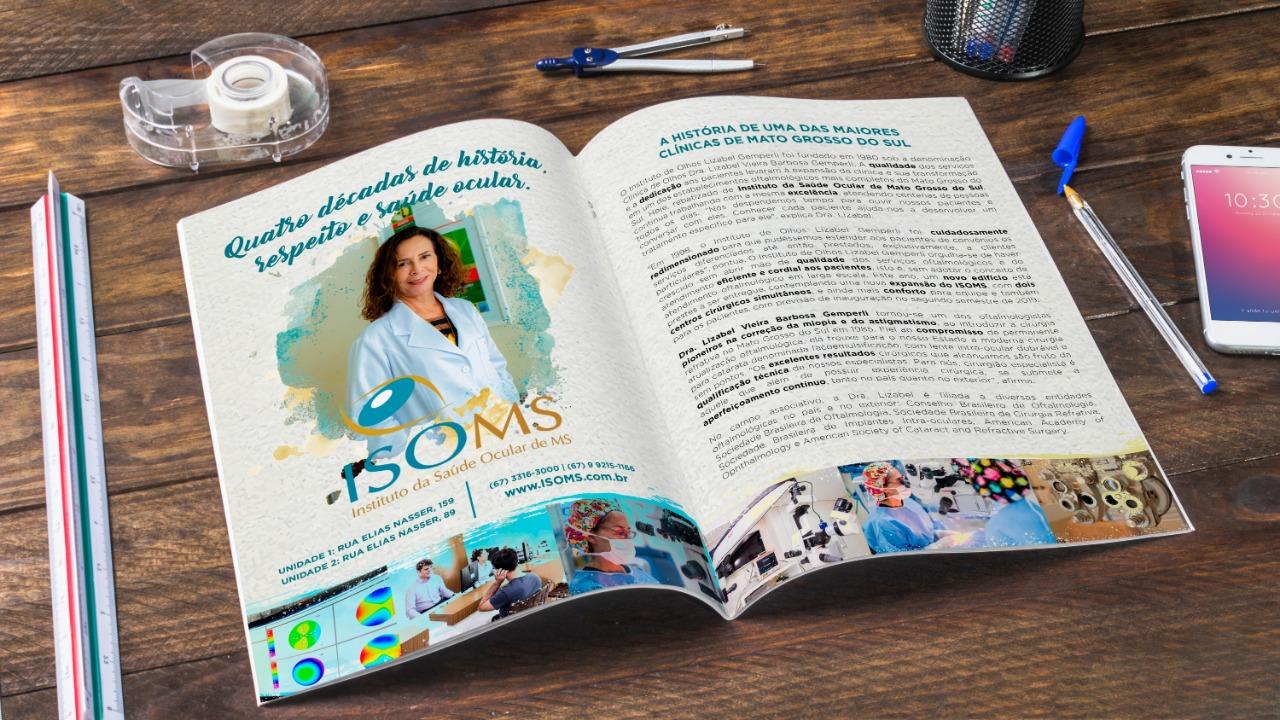 Anúncio para revista Cassems