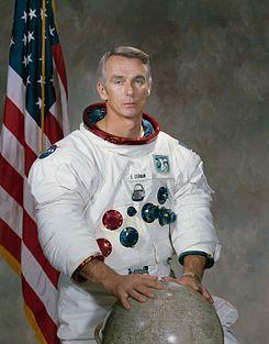 Astronautas en la Luna. Eugene Cernan