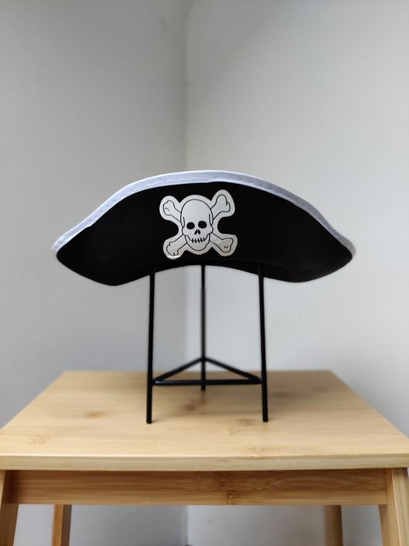 Witte piratenhoed (Michiel)