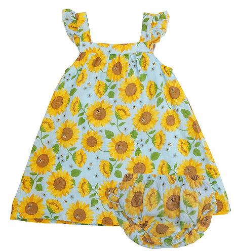 Sunflower Sundress - Baby