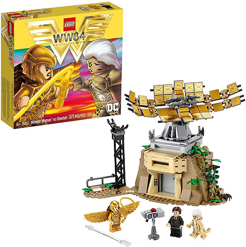 LEGO DC Wonder Woman vs Cheetah