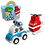 Thumbnail: LEGO Duplo Fire Helicopter & Police Car