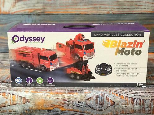 Blazin' Moto Transformer Truck