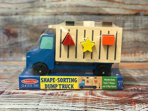 Shape-Sorting Dump Truck