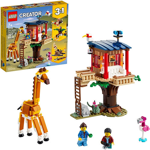 LEGO Creator 3in1 Safari Wildlife Tree House
