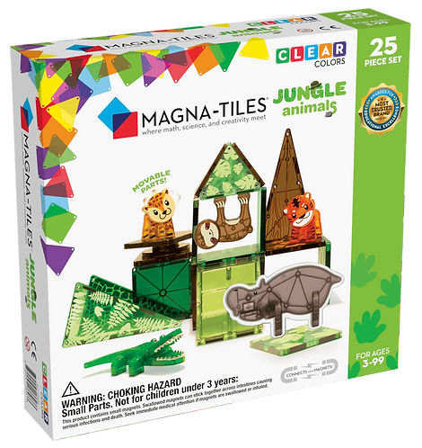Magna-Tiles Jungle Animals 25pc