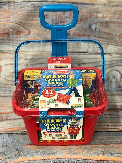Fill & Roll Grocery Basket