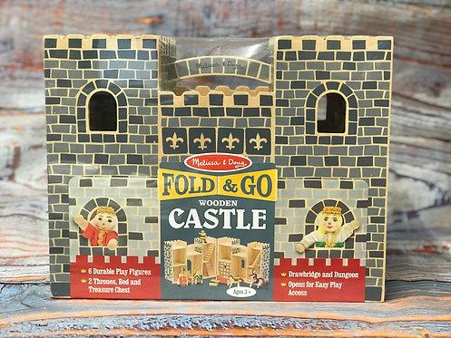 Fold & Go Wooden Castle