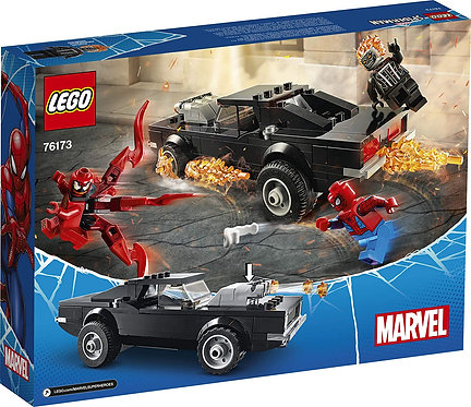 LEGO Marvel Spider-Man: Spider-Man and Ghost Rider vs. Carnage