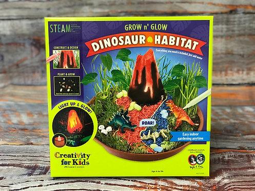 Grow n' Glow Dinosaur Habitat