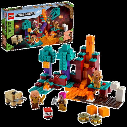 LEGO Minecraft: The Warped Forest