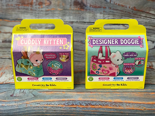 Cuddly Kitten & Designer Doggie