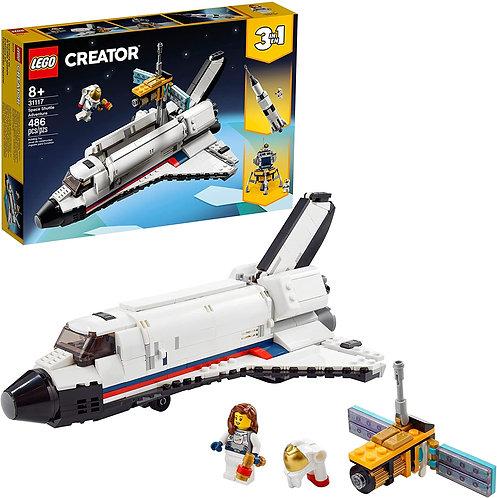 LEGO Creator 3in1 Space Shuttle Adventure