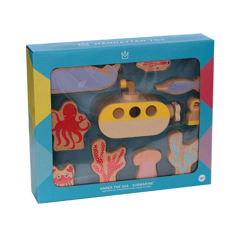 Under The Sea Wooden Activity Toy