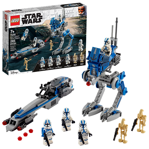 LEGO Star Wars: 501st Legion Clone Troopers