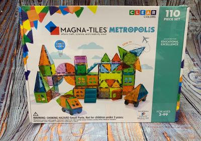 Magna-Tiles 110 p. Metropolis