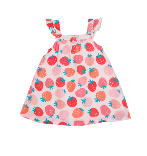 Strawberry Sundress - Kids