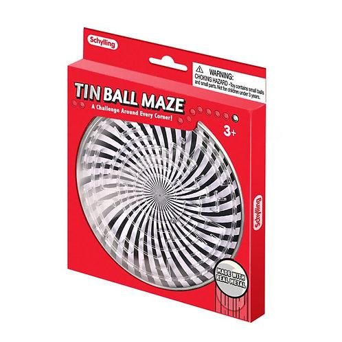 Tin Ball Maze Toy