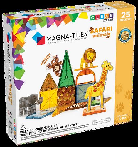 Magna-Tiles Safari Animals- 25pc