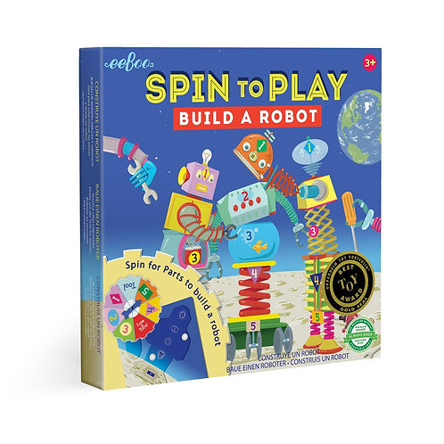 Build A Robot Spinner Puzzle Game