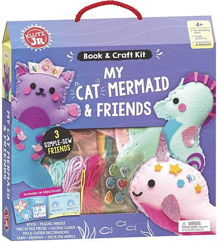 My Cat Mermaid & Friends Craft Kit