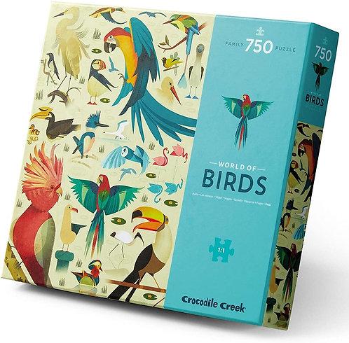 Crocodile Creek 750 pc. World of Birds Puzzle