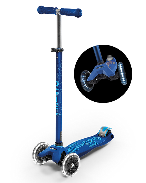 Micro Maxi LED Deluxe Scooter