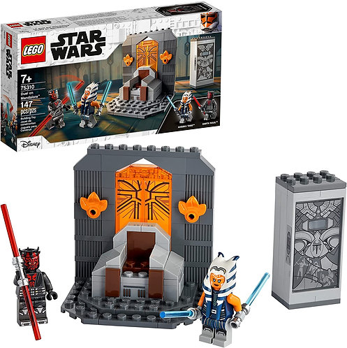 LEGO Star Wars Duel on Mandalore 75310 Awesome Toy Building Kit Featuring Ahsoka
