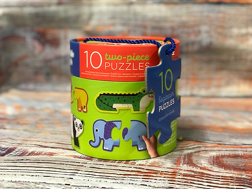 10 2-Piece Puzzles